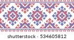 Embroidered Cross Stitch...