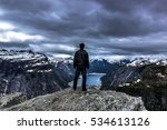 july 22  2015  traveller at the ... | Shutterstock . vector #534613126