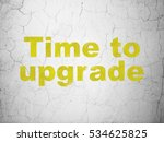 timeline concept  yellow time... | Shutterstock . vector #534625825