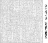 canvas texture gray background | Shutterstock .eps vector #534630442