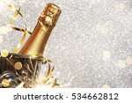 new year celebration with... | Shutterstock . vector #534662812
