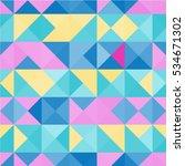 seamless pattern background... | Shutterstock .eps vector #534671302