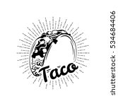 Taco. Mexico Food. Traditional...