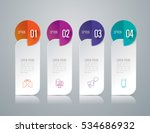 infographic design vector and... | Shutterstock .eps vector #534686932