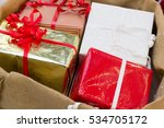 christmas gifts. | Shutterstock . vector #534705172