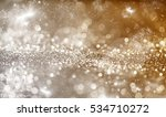 magic holiday abstract glitter... | Shutterstock . vector #534710272