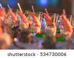 beautifully decorated catering... | Shutterstock . vector #534730006