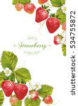 vector vertical banner with... | Shutterstock .eps vector #534755872