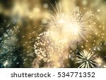 abstract holiday background  ... | Shutterstock . vector #534771352