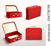red case on white | Shutterstock .eps vector #534778798