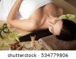 spa woman in beauty salon | Shutterstock . vector #534779806