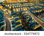 suburb housing development... | Shutterstock . vector #534779872