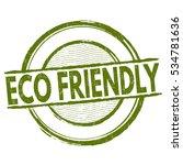 eco friendly grunge rubber...   Shutterstock .eps vector #534781636