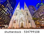 St. Patrick's Cathedral In New...