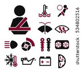 car sign icon set | Shutterstock .eps vector #534802516