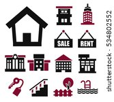 buying home icon set | Shutterstock .eps vector #534802552