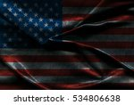usa flag background | Shutterstock . vector #534806638