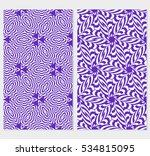 set of seamless floral...   Shutterstock .eps vector #534815095