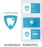 abstract vector dental identity ... | Shutterstock .eps vector #534822922