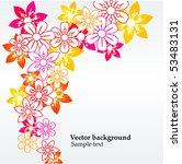 floral background | Shutterstock .eps vector #53483131
