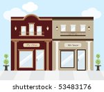 vector illustration of luxury... | Shutterstock .eps vector #53483176