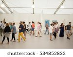usa  florida  miami beach ... | Shutterstock . vector #534852832