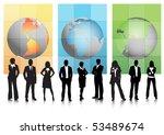 business people | Shutterstock .eps vector #53489674