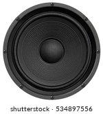 audio equipment  speaker on...