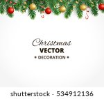holiday background with... | Shutterstock .eps vector #534912136