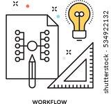 drafting vector icon | Shutterstock .eps vector #534922132