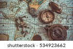 antique pirate rare items... | Shutterstock . vector #534923662