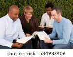 men's bible study   Shutterstock . vector #534933406