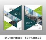 abstract binder layout. hi tech ...   Shutterstock .eps vector #534938638