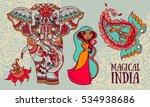 set of vector illustrations for ... | Shutterstock .eps vector #534938686