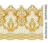 seamless pattern. golden... | Shutterstock . vector #534944482