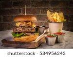 Grilled Beef Burger Patties...