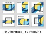 abstract vector layout... | Shutterstock .eps vector #534958345