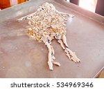 dead men's bones after burning | Shutterstock . vector #534969346