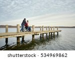 disabled young man in... | Shutterstock . vector #534969862