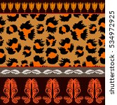 seamless vector pattern with...   Shutterstock .eps vector #534972925
