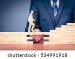 leave your comfort zone ... | Shutterstock . vector #534991918