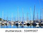 Yacht Club at New Caledonia - stock photo