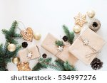 preparing for christmas gifts...   Shutterstock . vector #534997276