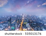 skyline and cityscape of modern ... | Shutterstock . vector #535013176