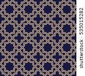 abstract pattern in arabian... | Shutterstock .eps vector #535015282