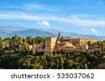 Granada  Spain. Aerial View Of...