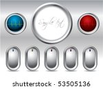 cool buttons with display and... | Shutterstock .eps vector #53505136