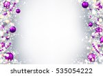 new year gray background with... | Shutterstock .eps vector #535054222