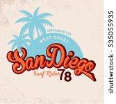San Diego Vintage Graphic...