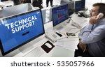 customer care webpage interface ... | Shutterstock . vector #535057966